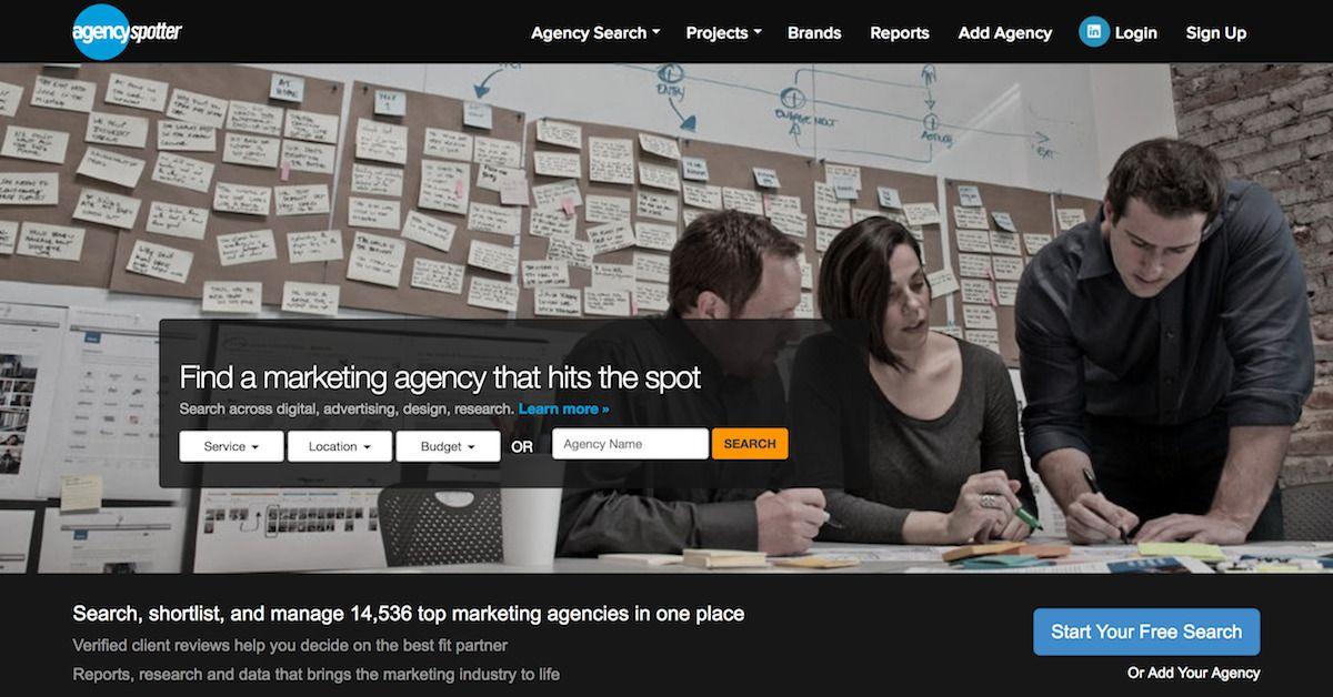 Agency Spotter - Search Top Advertising Agencies, Digital