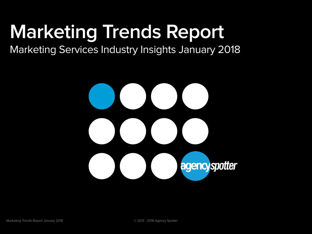 agency spotter agency search trends report January 2018