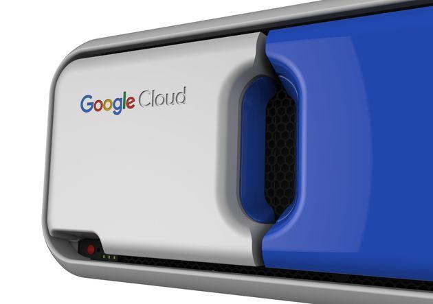 Data Transfer Appliance by FutureBrand Speck