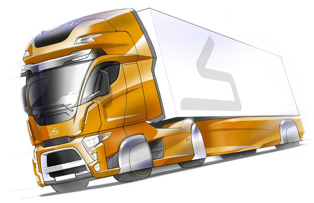 Sabic Truck Concept by Van der Veer Designers