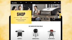 Charbroil.com e-commerce redesign
