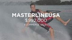 MasterlineUSA: $992K Ecomm Sales