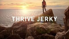 THRIVE Jerky Brand and Package Design