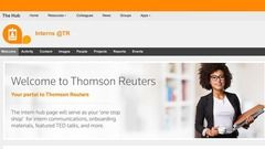 Intern Program at Thomson Reuters