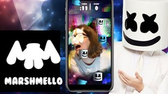 EDM Artist Marshmello Instagram AR Face Game