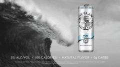 White Claw Hard Seltzer Brand Launch