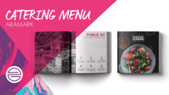 Aramark 2400 Catering Menu