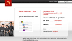 McDonald's Intranet Portal