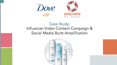 Dove Influencer Video Content Campaign