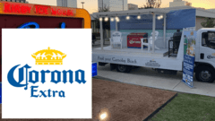 Corona Experiential OOH and WebAR Experience Drive the Find Your Gameday Beach Tour
