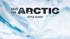 Interactive Style Guide for Save The Arctic