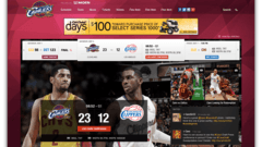 NBA - Team Sites Platform Redesign