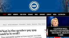 UAW Website Redesign