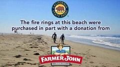 Support California Beach Grills with Farmer John