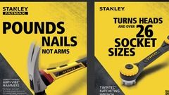 Stanley Hand Tools Advertising