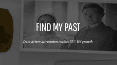 Data driven attribution enables 55% YoY growth