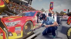 McDonald's Virtual Reality Pit Crew Challenge