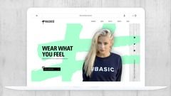 Hashed Apparel E-Commerce Website
