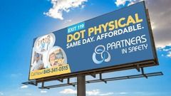 Partners In Safety Billboard