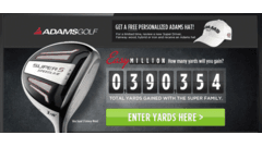 "Adams Golf - ""Easy Million"" Sweepstakes"