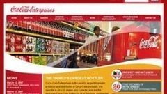 Coca-Cola Enterprises Website and Content Management System