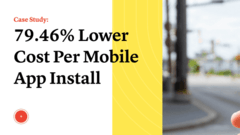 79.46% Lower Cost Per Mobile App Install